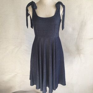 Anthro July 4th NWOT Dress Bouncy Fit & Flare NWOT